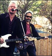 Jonboy with Gurf Morlix at SXWS 2000